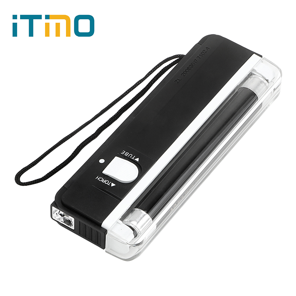 Itimo Uv Flashlight Mini Portable Lamp Handheld Torches
