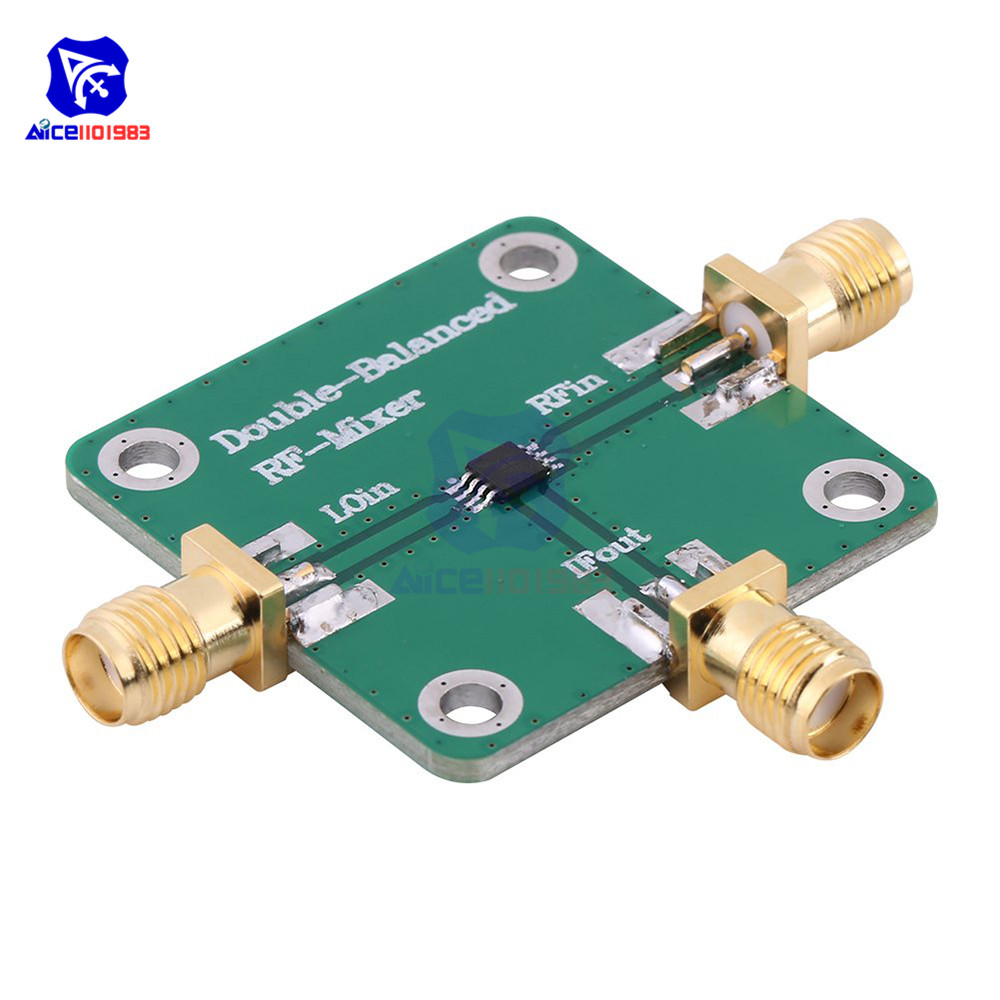 Microwave Radio Frequency Dual Balanced RF Mixer Frequency Transducer RFin=1.5-4.5GHz RFout=DC-1.5GHz LO=312