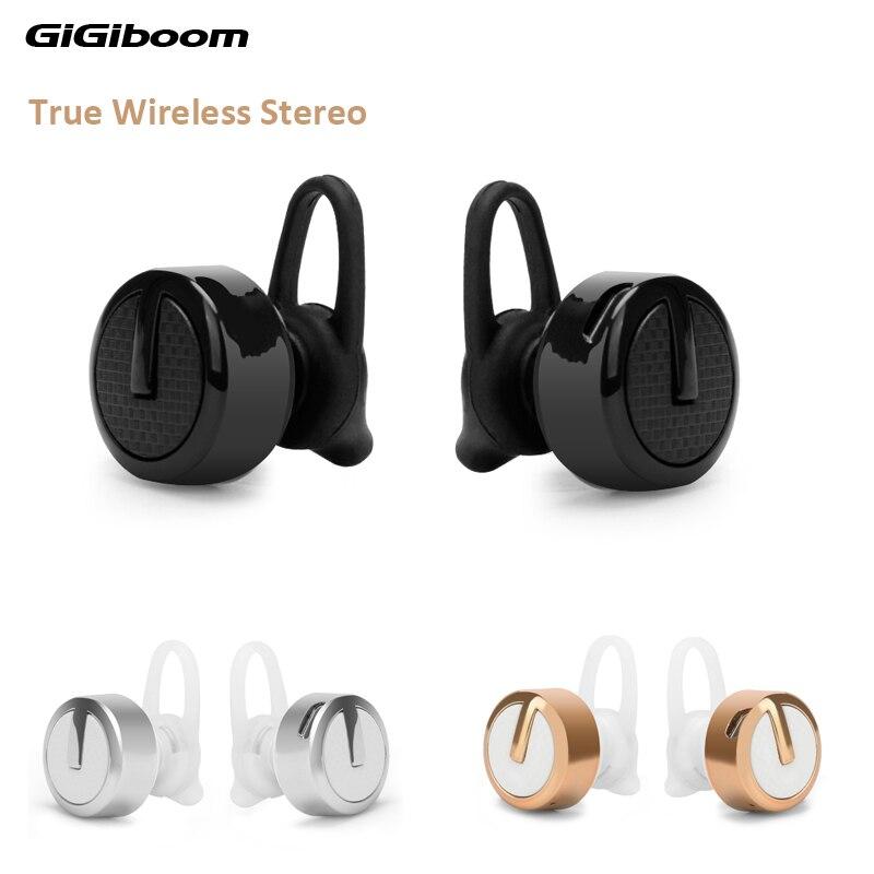 GiGiboom TWS M99 Mini Twins True Wireless Stereo Bluetooth Earphones CSR 4.1 Handsfree headset Dual bluetooth Earbuds