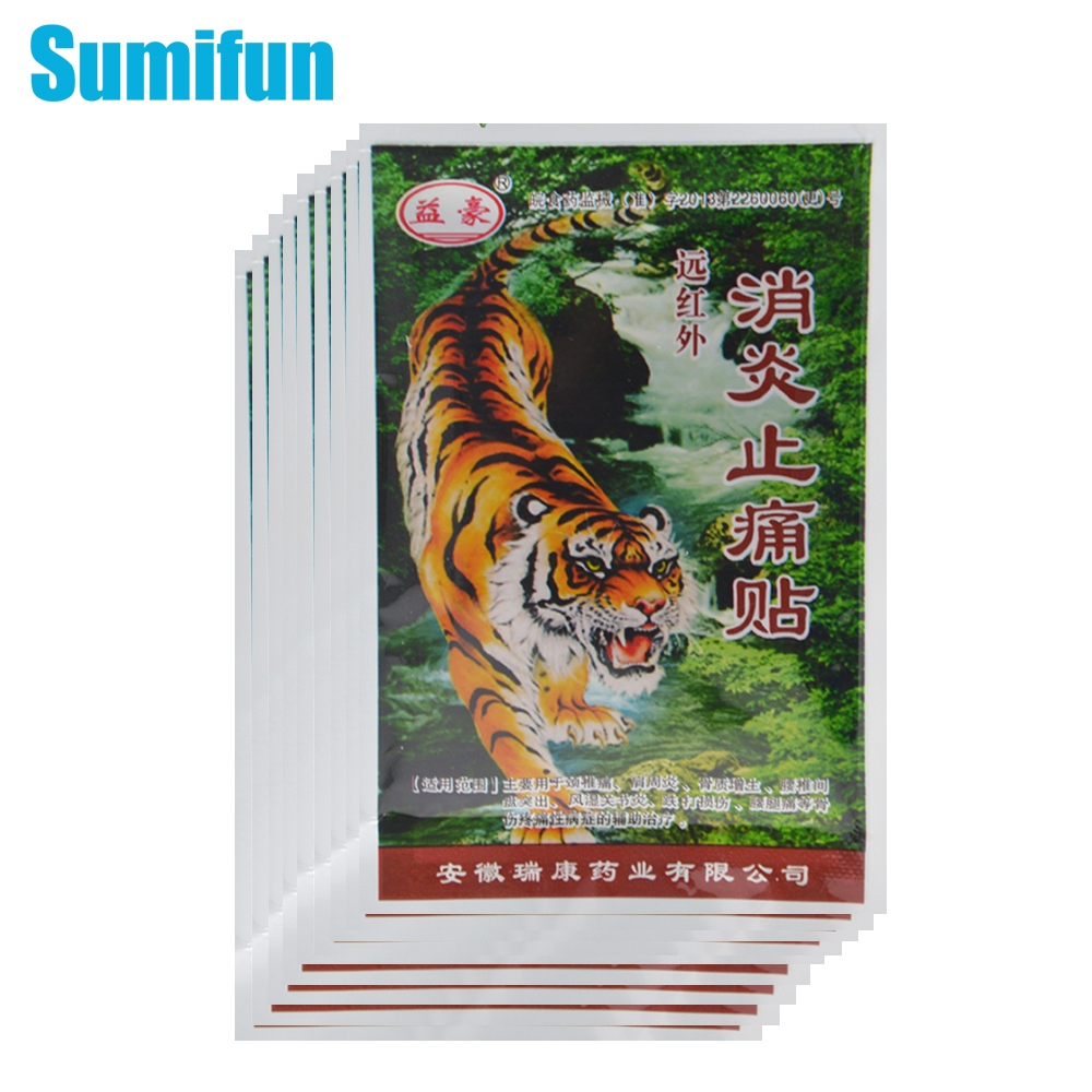 8pcs/1bag Tiger Balm Pain Relief Patch Chinese Back Pain Plaster Heat Pain Relief Health Care Medical Plaster Body Massage C291 sumifun buy 3 get 1 chinese medical plaster muscle rthritis adhesive rheumatism pain plaster relieving patch health care d1023
