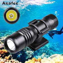 Brinyte DIV18 200M Underwater Lamp Led Dive Light CREE XML2 650lm LED Scuba Diving Torch Dive Mask Flashlight new 2100lm cree t6 led waterproof underwater scuba dive diving flashlight torch light lamp for diving free shipping