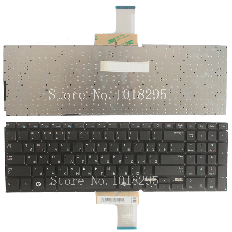 New RU Laptop keyboard for SAMSUNG NP700Z5A 700Z5A NP700Z5B 700Z5B NP700Z5C 700Z5C RU Russian layout Without backlight new laptop keyboard for samsung np300e7a ru russian layout
