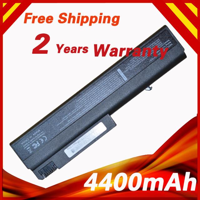 4400 mah batería del ordenador portátil para hp para compaq nx6100 nx6105 nx6110 nx6110/ct nx6115 nx6120 nx6125 nx6130 nx6140 nx6300