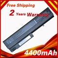 4400 mah bateria do portátil para hp para compaq nx6100 nx6105 nx6110 nx6110/ct nx6115 nx6120 nx6125 nx6130 nx6140 nx6300