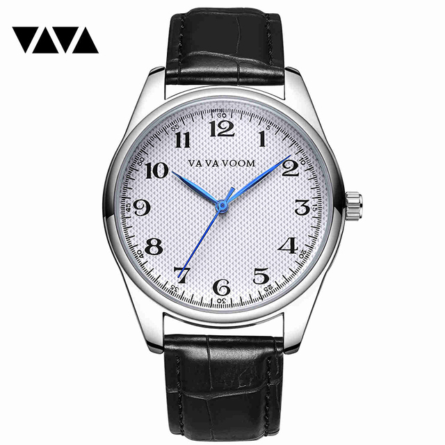 Watches Men Top Brand Luxury Men's Quartz Wristwatches Leather Casual Business Watch Men Waterproof Clock Male reloj hombre xfcs