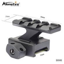 AloneFire D0040 Universal Tactical Pistol Scope Mount Weaver Picatinny Rail Pistol Rail for adding Scope Sight Flashlight Laser
