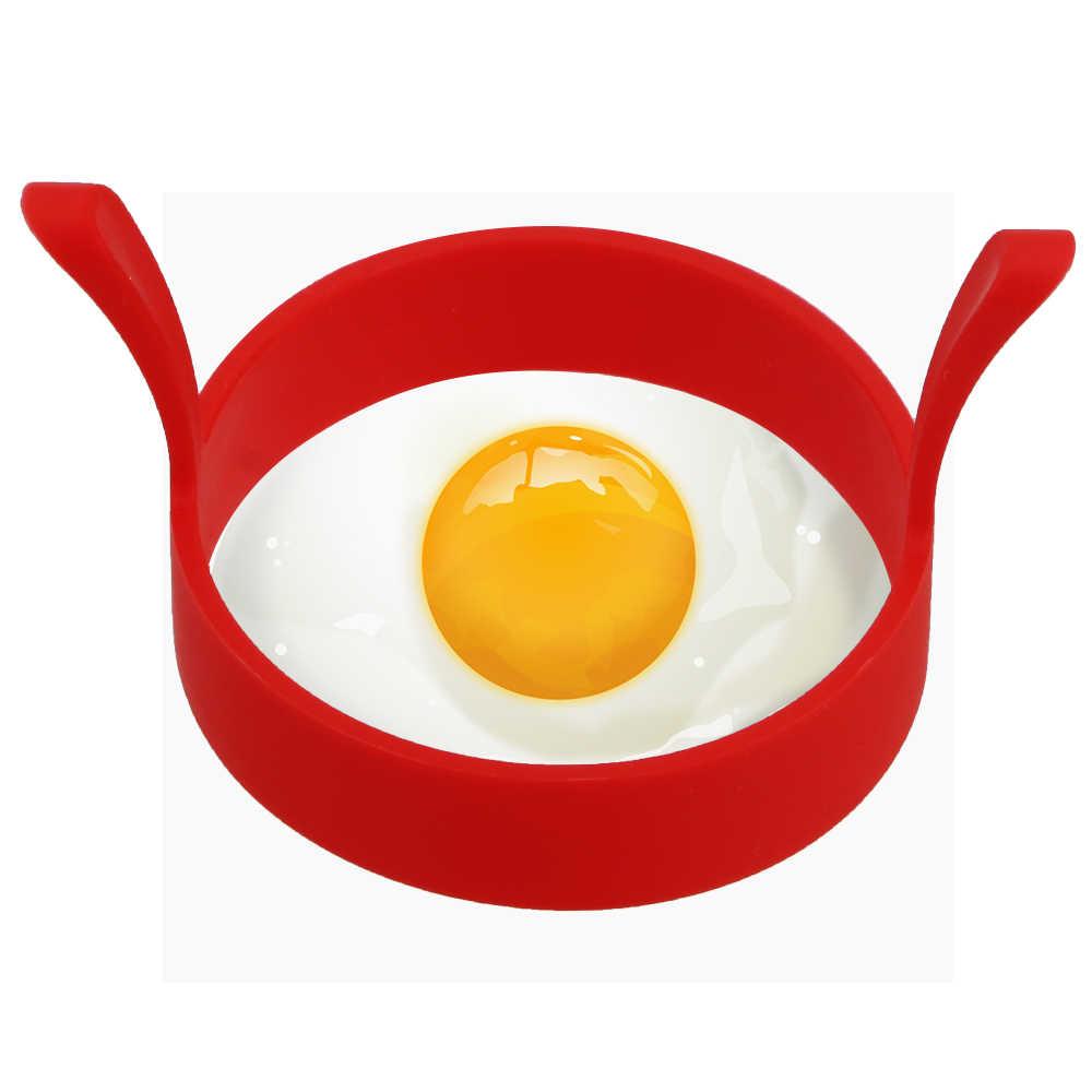 HILIFE Acessórios de Cozinha Panqueca Omelete Anel Ovo Ferramenta De Cozimento Rodada Molde de Silicone Ovo Frito Shaper