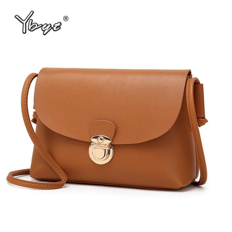 YBYT brand 2017 new vintage casual women flap satchel high quality ladies coin purses mini soft shoulder messenger crossbody bag  недорого