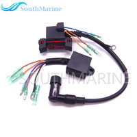 Boat Motor Ignition Coil and CDI for Hangkai F6.5 6.5 HP 4 stroke Outboard Engine
