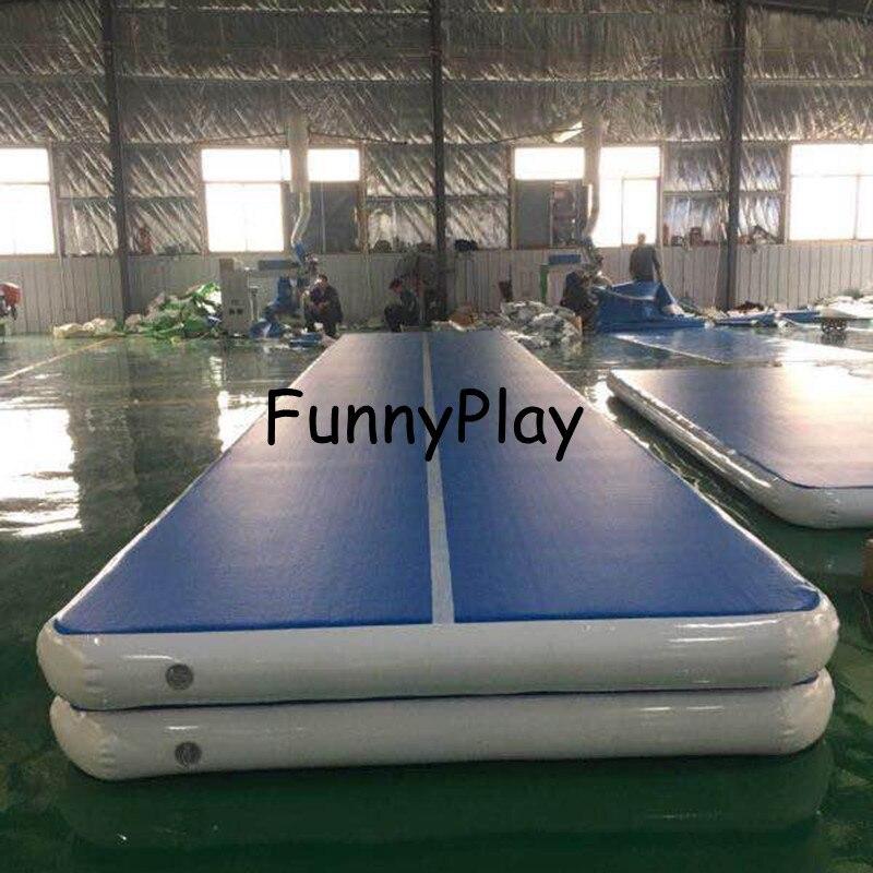 Gonflable pas cher gymnastique matelas Gym dégringolade Airtrack plancher Tumbling Air piste à vendre Fedex livraison gratuite