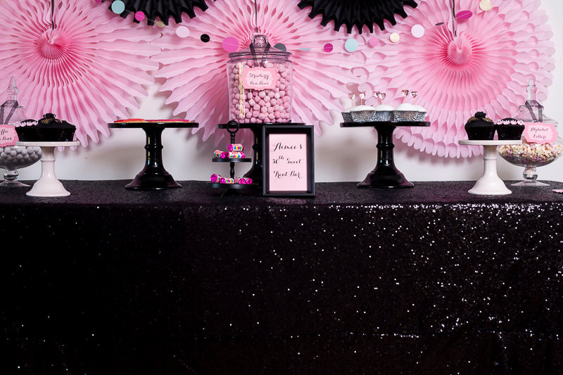 230cm X 310cm Black Sequin Tablecloth,wholesale Wedding Beautiful Sequin Table  Cloth / Overlay / Part 44