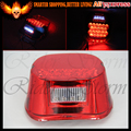 for Harley Davidson Softail Deluxe FLSTN Custom FXSTC Deluxe FLSTN Standard FXST Red LENS LED Crystal Tail Brake Light