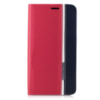 TobeThird For Xiaomi Redmi Note 4X Case Contrast Color Leather Stand Card Holder Phone Case Cover