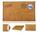 Laptop saco envelope pu leather pouch case capa para apple macbook pro 13 air 11 13 notebook luva protetora para mac livro