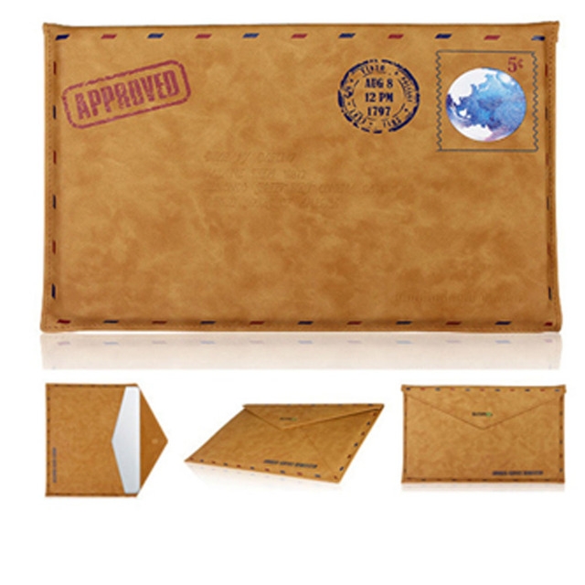 laptop bag envelope PU leather Case Cover Pouch for apple macbook pro 13 air 11 13 notebook protective sleeve for mac book
