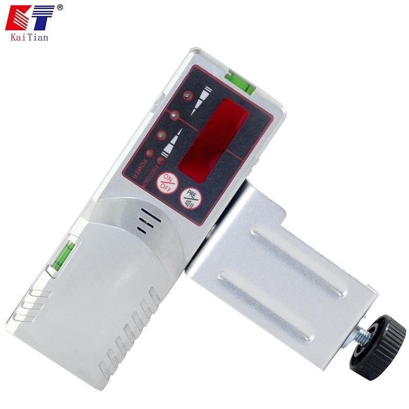 KaiTian Exterior Receptor para Auto-Nivelamento Nível Laser Vermelho 12 Linhas Linha 5 Nivel A Laser com Precisão Detectar 3D sinal de Laser 50 M