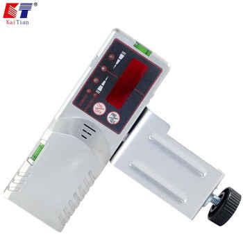 Receptor de exterior KaiTian para auto-nivelado láser rojo Nivel 12 líneas Nivel láser 5 Linha con detección de precisión 3D señal láser 50 M