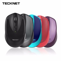 TeckNet Omni Mini 2 4G Wireless Mouse 18 Month Battery Life 3 Adjustable DPI Levels 2000