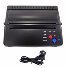 hot deal buy styling professional tattoo stencil maker transfer machine flash thermal copier printer supplies eu plug