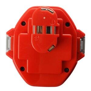 Image 2 - 14.4V NiMH Bateria para Makita 3.0Ah 6281D 6333D 6336D 6337D 6339D Vermelho