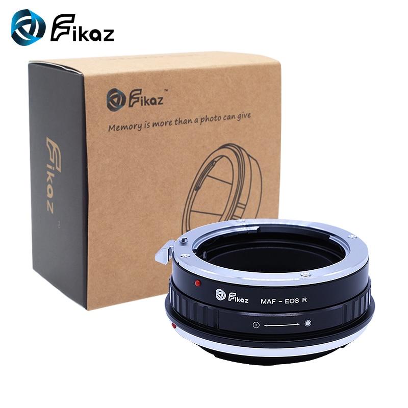 Fikaz pour Minolta (AF)-bague d'adaptation pour monture d'objectif EOS R pour objectif Minolta AF vers caméra de montage Canon EOS R - 6