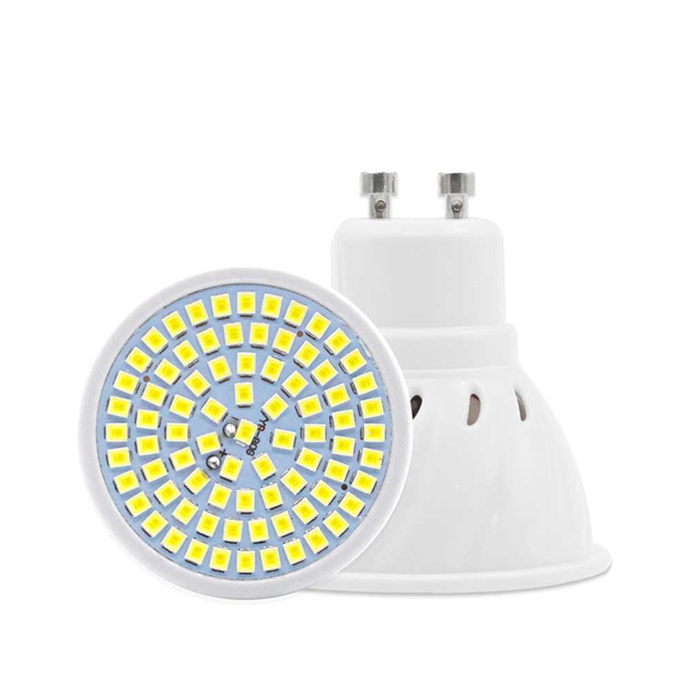 1/10/20X 60 LEDS GU10 Scheinwerfer Birne Mais Lampe MR16 Spot glühbirne LED Ampolletas GU10 220V E27 Bombillas Led E14 Ampulle led