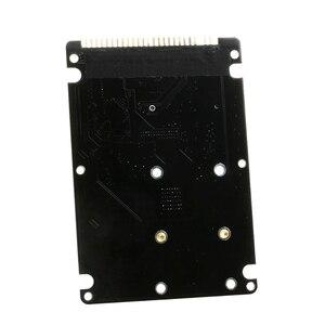 """Image 5 - 44PIN mSATA à 2.5 """"IDE HDD SSD mSATA à PATA adaptateur carte de convertisseur avec étui 10*7*0.9cm"""