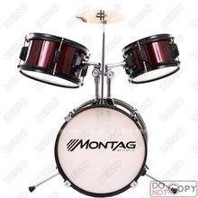 216China Western musical instrumentsChild Rack Simple 3 Drum Jazz Drum SetChildren drums drums 3