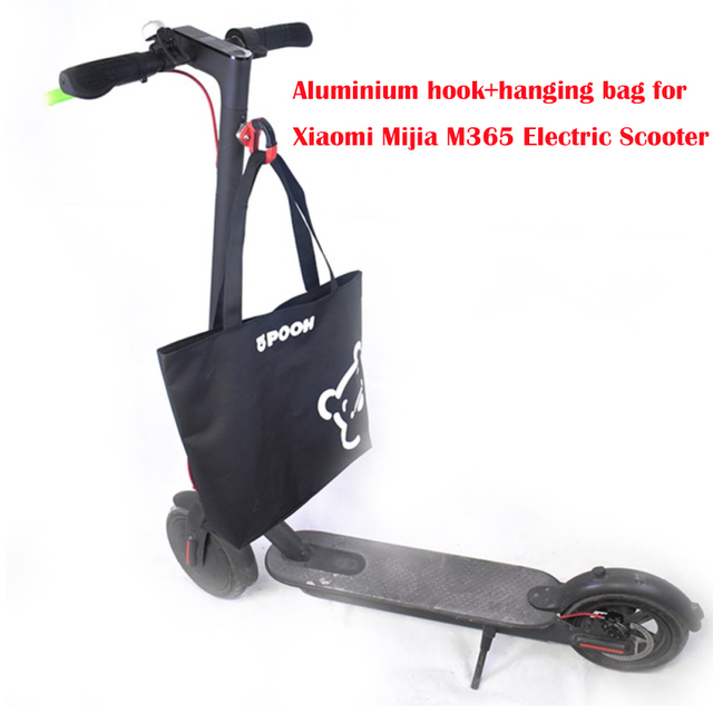 Xiaomi Mijia M365 Electric Scooter Skateboard Front Hanging Bags Clothes Helmet Claw Hook Carry Bottle Luggage