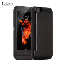 Leioua 10000mah External Portable Power Bank Case For Iphone 7 6 6s 8 Battery Charger CaseFor iPhone 8Plus 7Plus 6sPlus 6Plus