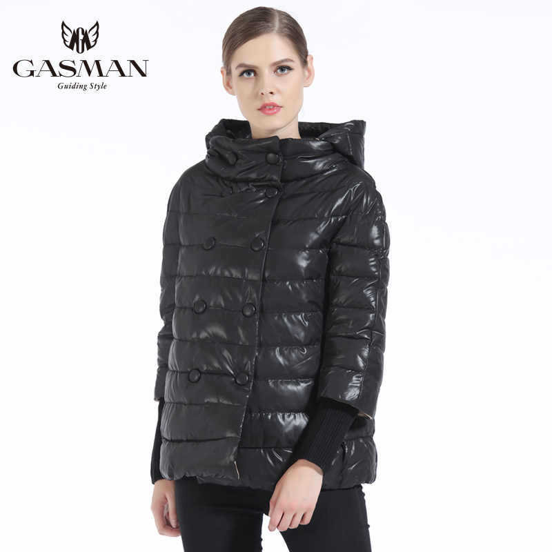 GASMAN 2019 kış kadın ceket aşağı moda marka kadın ceket kış kadın aşağı ceketler ve mont Parka kızlar pardesü