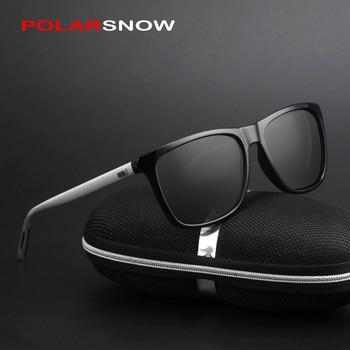 Sunglasses Men Polarized Aluminum+TR90 Vintage Eyewear Driving 1
