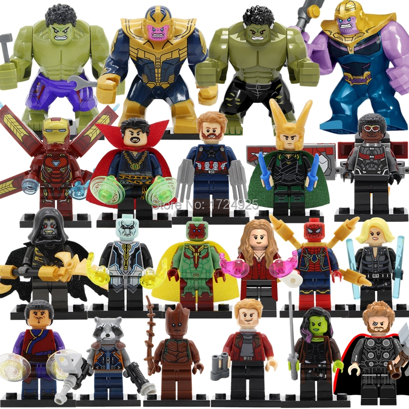 Super Hero Infinity War Figure INFINITY GAUNTLET Thanos Iron Man Avengers Building Blocks Set bricks Toys LELE насос фонтанный grinda gfp 33 2 5
