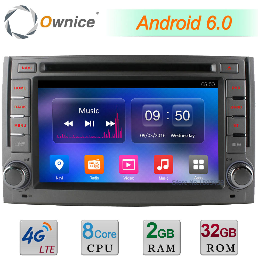 4G WIFI Android 6 0 Octa Core 2GB RAM 32GB ROM DAB USB Car DVD Multimedia