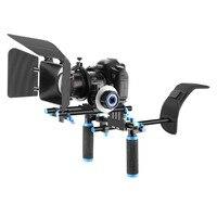 Neewer Rig Set Movie Kit Film Making System+Shoulder Mount Follow Focus+Matte Box for Canon/Nikon/Pentax/Olympus/Sony DSLR