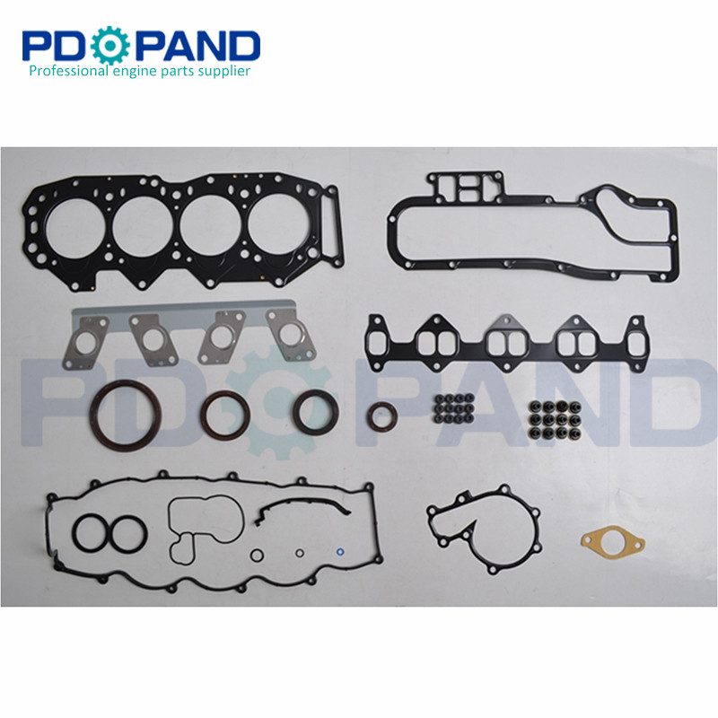 Dutiful Wl Wlt Wl-t Engine Overhaul Rebuild Gasket Set For Mazda B-serie Bravo Platform/chassis/mpv And For Ford Ranger 2500 2.5d 2.5td Elegant In Style