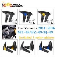 MT09 FZ09 FJ09 Fairing Radiator Cooler Side Panels Protector Cover for 2014 2015 2016 Yamaha FZ 09 MT 09 FJ 09 MT 09 FZ 09 FJ 09