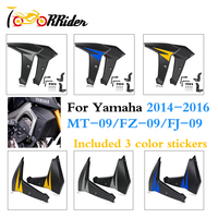 MT09 FZ09 FJ09 Fairing Radiator Cooler Side Panels Protector Cover for 2014 2015 2016 Yamaha FZ 09 MT 09 FJ 09 MT 09 FZ 09 FJ 09