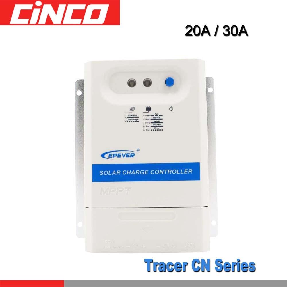 20A 30A 12 V 24 V MPPT régulateur solaire 2210CN 3210CN epsolar PV régulateur de chargeur de panneau de cellules solaires