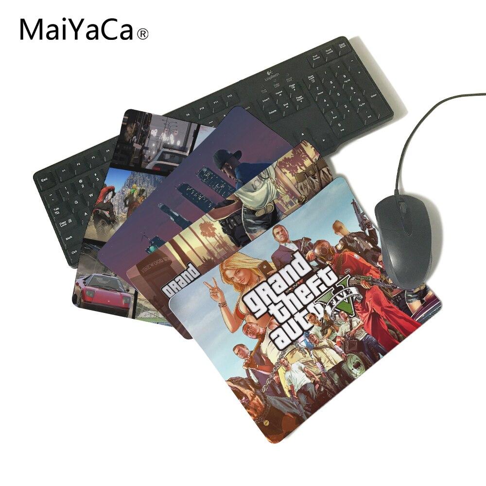 MaiYaCa GTA V Grand Theft Auto Grand Theft Auto V Rockstar Games Computer Gaming Mouse Pad Gamer Play Mats
