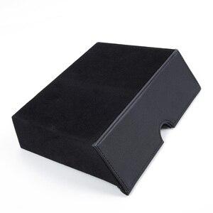 Image 2 - מרכז קונסולת אחסון מגירת תיבת מגש כוך מתאים טסלה דגם X דגם S מיכל תוכן חנות תיבת רכב אביזרי פנים