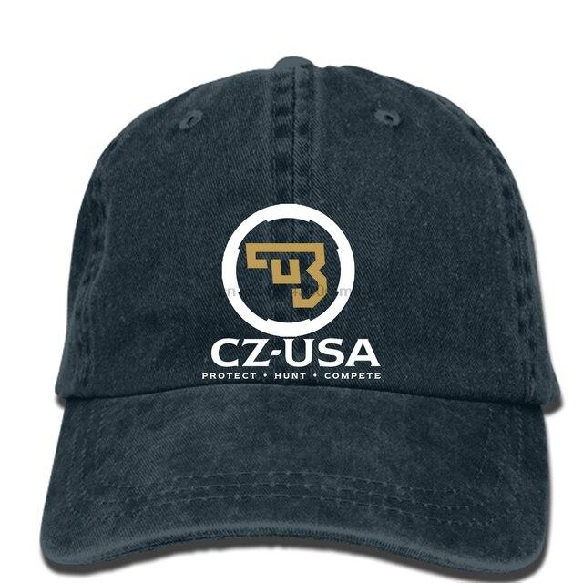 hip hop Baseball caps Summer Cool Funny cap NEW Ceska Zbrojovka Firearms  Guns CZ USA Logo 58a2ffbbf2