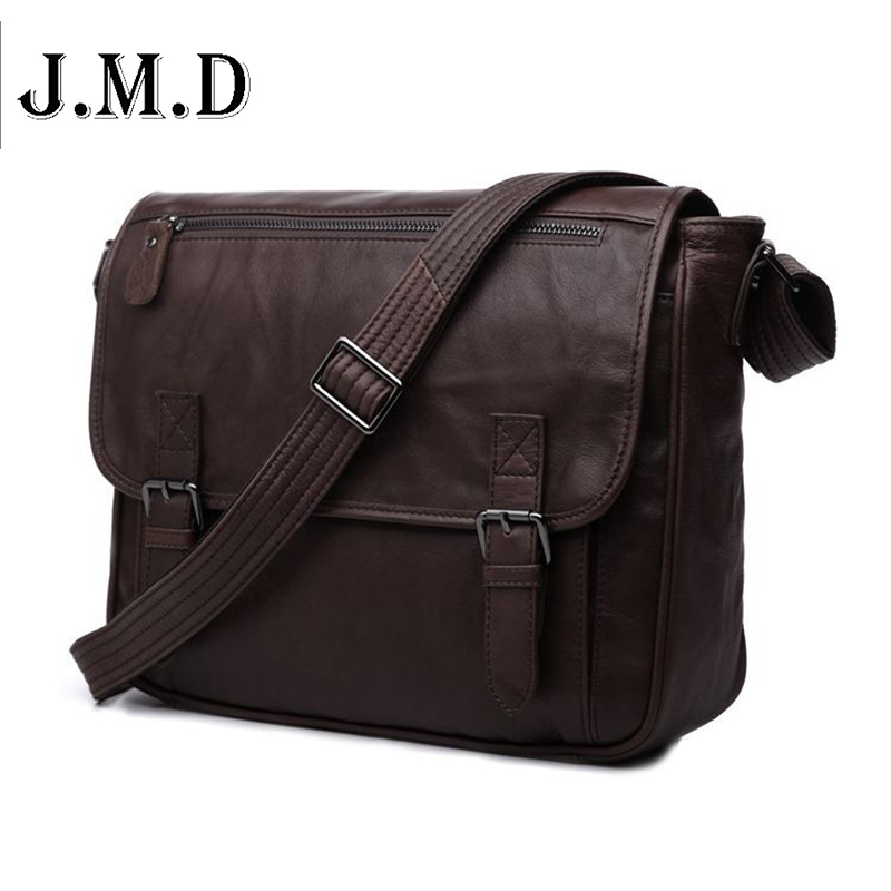 Hot Sale Vintage casual genuine leather men Messenger bag Shoulder bags for men CrossBody business package 7022C freeshipping цена и фото
