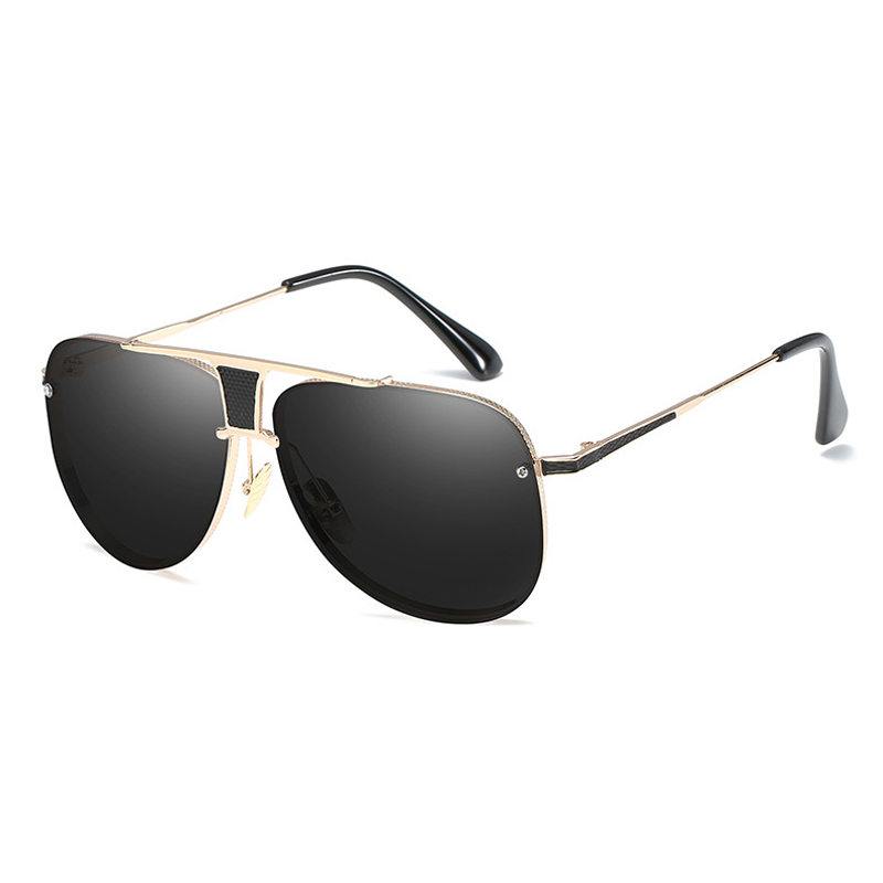 Brand Designer Fashion Classic Sunglasses Men's HD Goggle Integrated Eyewear Sun glasses UV400 For Man Women