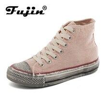 Купить с кэшбэком FUJIN bradn women canvas shoes women casual sneakers women flats spring summer female shoes comfortable for women shoes