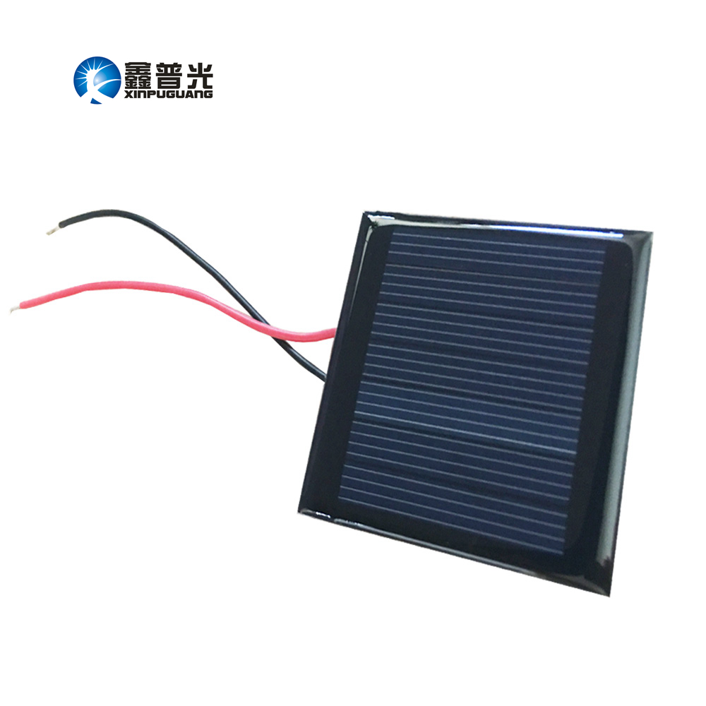 Xinpuguang mini solar panel 3.5v 0.2w Epoxy resin module Polysilicon cell for motor pump LED battery Education Kit charger