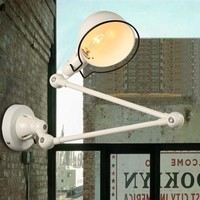 Vintage Industrial Task Wall Light E14 1 Light with Swing Arms 220-240V Wall sconces