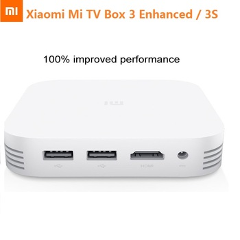 Xiaomi Mi TV Box MiBox 3 Enhanced Pro 3S Mini PC Smart Android 5.1 TV Box 2G RAM 4K HD Cortex-A72 Cortex-A53 Media Player