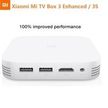 Xiaomi mi tv box mibox 3 mejorada pro 3 s elegante del androide tv caja de Android 5.1 2G RAM 4 K HD Cortex-A72 + Cortex-A53 Media Player
