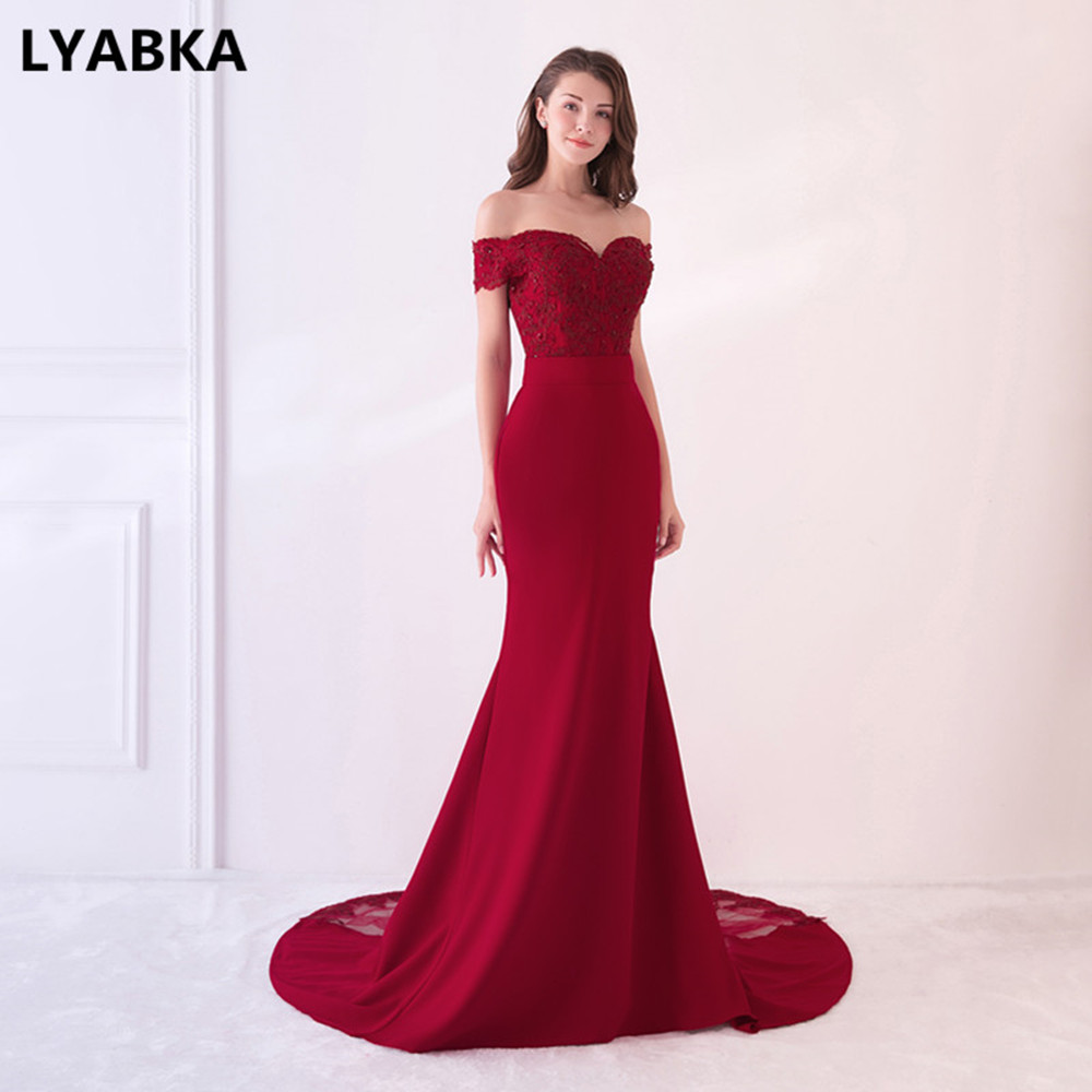 Evening Dress Abendkleider 2018 Design Sweetheart Mermaid Prom Dress ...